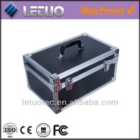 rolling makeup case with drawer rolling sample case