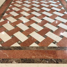 Waterjet Rectangle Marble Medallion Designs