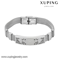 bracelet-29-xuping new simple stainless steel boy and girl friendship bracelets