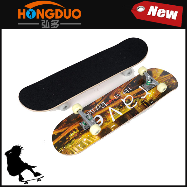 Wholesale canadian maple blank skateboard decks
