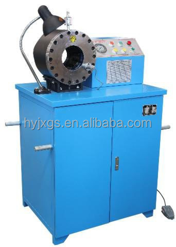 hot selling 4SP hydraulic hose crimping machine, DSG250C hydraulic rubber pipe crimper