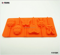 11191Silicone Cake Pop Pan / Mold Lollipop Party Cupcake Baking Mold