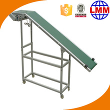 PVC belt conveyor packaged products motor portable conveyor for truck unloading fertilizer belt conveyors