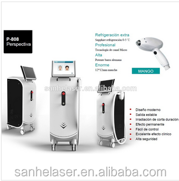 new design hair removal/808nm diode laser hair removal / super crystal skin care