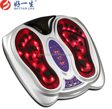 2017 newest Infrared blood circulation electric foot <strong>massager</strong> with electrode pads