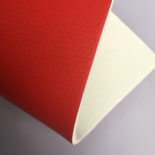 Popular laminated synthetic red tpu leather for football cover