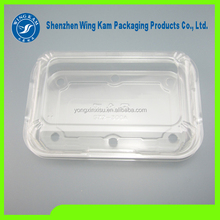 vegetable clamshell blister plastic packaging transparent clear food grade vegetable plastic packaging