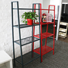 Household Steel Angle Iron Storage Shelving Wall Rack