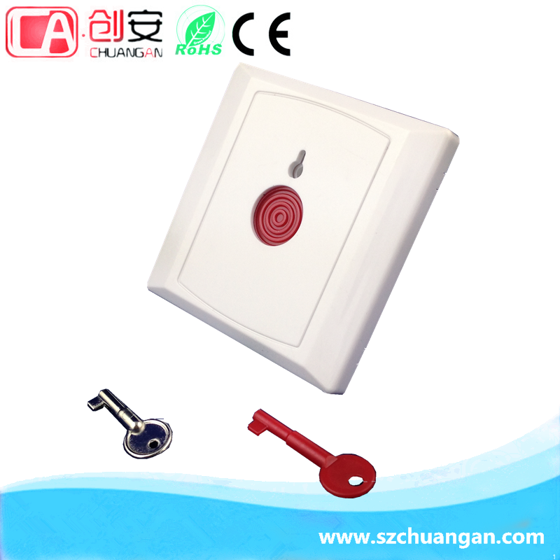 Trade assurance Key Reset Push Button Alarm Emergency Button