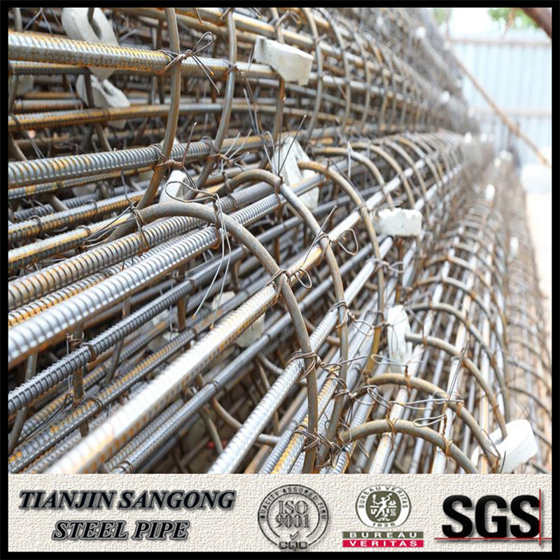 ASTM A615 GRADE 40 6MM-40MM rebar steel