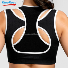 Cheap Price Ladies Tops Fitness Custom Gym Wear Women Sports bra Yoga Clothing