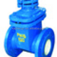LT factory supply 4 Inch cast iron Soft Sealing Gate Valve