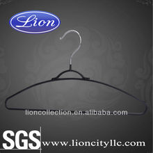 LEC-M008 plastic coated wire clothes hangers