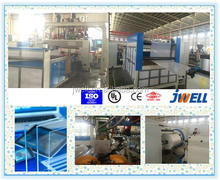 JWELL - Clear PMMA sheet extruder machine