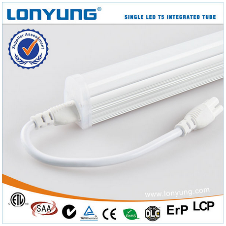 T5 Slim Fluorescent Replacement T5 Integrated Single Fixture Easy install Cabinet Lighting With UL DLC ETL