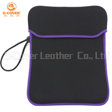 9.7 inch Wholesale eco-friendly stylish custom neoprene laptop sleeve with cover