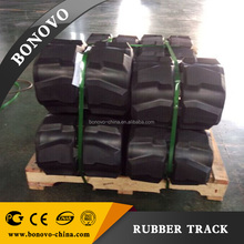 BONNE ESPERANCE MICROSAND 230x72x41rubber track, rubber pad ,rubber crawler made from natural rubber for Excavator