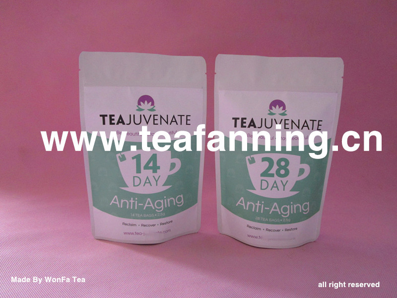The 14 Day Tea Detox, Customized USFDA Herbal Teas