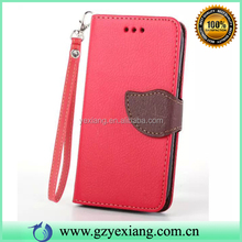 High Quality Leather Pouch Wallet Case, Case For Samsung Galaxy Core I8260 I8262