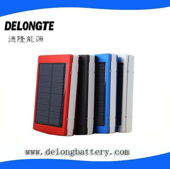solar power universal mobile phone charger solar cell phone charger 10000mah move power bank dual USB solar charger