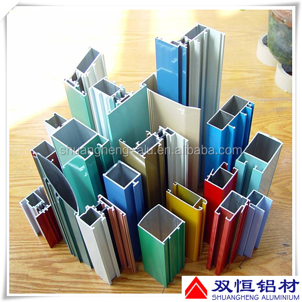 China top manufacturers extruded aluminum window and door profile