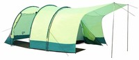 Outdoor camping tent Bestway 68013 TRIPTREK 4 person family tunnel tent 2 layer