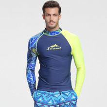 custom long sleeves swimwear rashguard surf clothing swimsuit shorts men