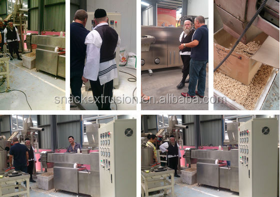 Industrial Automatic Breakfast Cereal Products Machinery