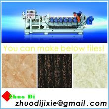 sun stone coated metal roof tile made by ceramic machine