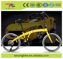 New type 20 inch high carbon Steel frame folding bike with high quality made in China for sale