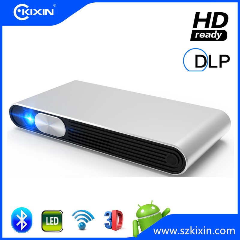 Home theater portable 720P HD smart pico mini DLP LED beamer/projector