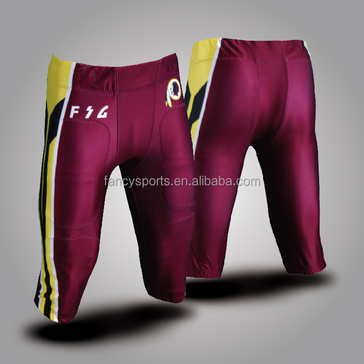 Custom make American football pants