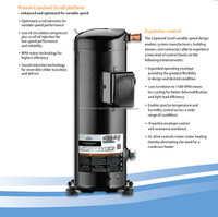 Copeland Scroll Variable Speed Compressor For Residential Application