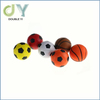 Custom Dazzling Toys Happy Smile Face Stress Ball Neon Smile Face Relaxable Squeeze Balls stress reliever balls