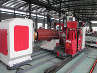 Cantilever Type Piping Automatic Welding Machine with Three Welding Torches(TIG+MIG+SAW)