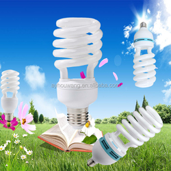China good quality 16 years 26w half spiral CFL energy saving lamp
