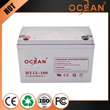 High qualified best battery for lead acid battery agm battery 12v 100ah