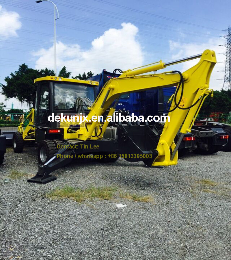 Construction Machinery 2WD Or 4WD 100HP DK100 New Tractor Loader Backhoe Cheap Prices