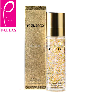 Anti aging 24k gold serum for private label