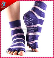 new design five toes silicon sock