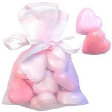 lovely heart Bath Fizzers /Salt