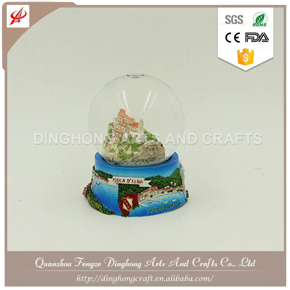 Christmas Home Decor Wholesale Custom Snow Globe Acryl Ball Christmas