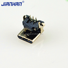 Bulk Micro USB Charging Port , Micro USB 5 Pin Connector For Charging