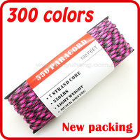 wholesale camping paracord custom 8-strand nylon rope