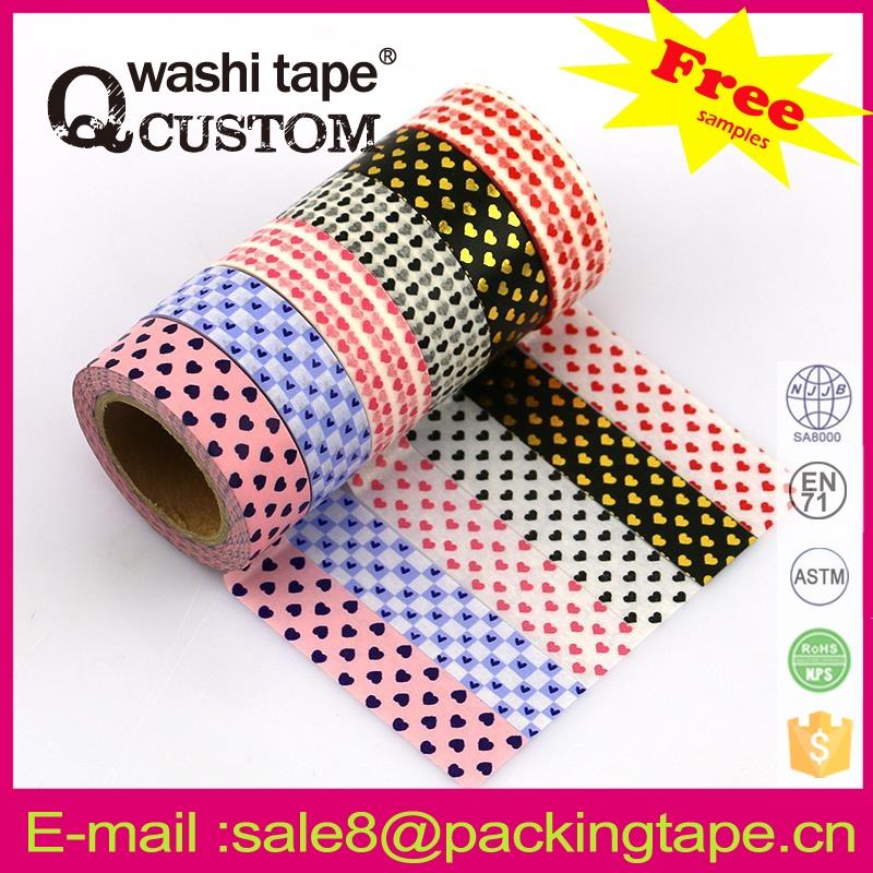 gorgeous new design sungjin washi paper masking tape with customize design