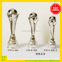 Football Trophy Soccer Ball Trophy Plastic Trophy Cup Sport Trophies X70/71