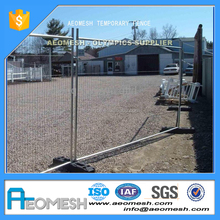 Several types of fence panel outdoor temporary fence