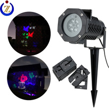 Laser with LED together 2 in 1 item christmas star christmas light projector for outdoor use