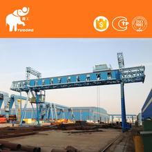 Manufacturer Direct Single Girder Gantry 2 Ton Truss Engine Crane With Cable Winch