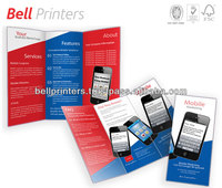 Three fold magazine mobile box printing from Indian printer